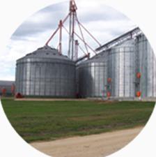 Sucursales y silos