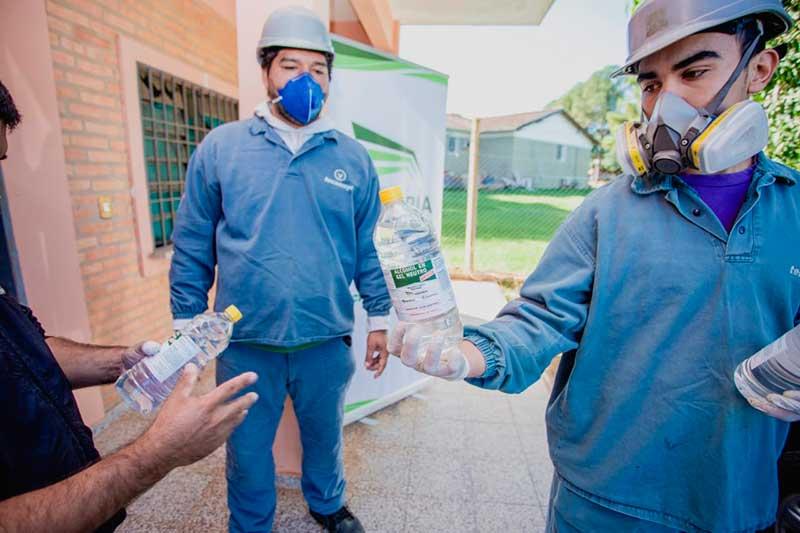 Donación del Grupo Sarabia a Hospital de Villeta