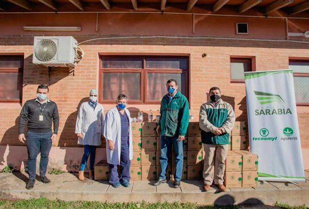 Grupo Sarabia desplegó su acción solidaria en Villeta