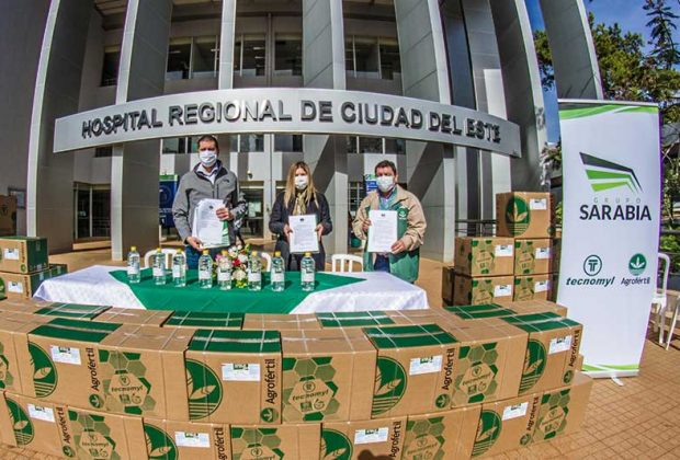 Grupo Sarabia firma alianza con el Hospital Integrado Respiratorio de Alto Paraná