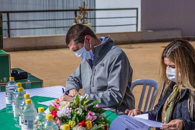 Donación a Hospital Integrado Respiratorio