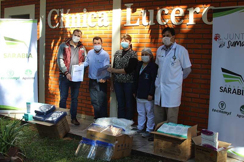 Entrega de Equipos a Hospital Lucero