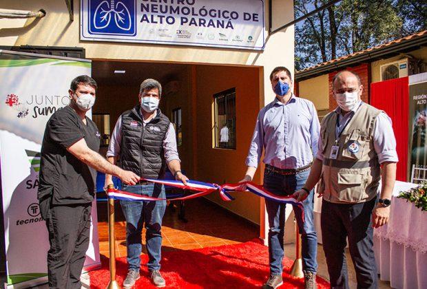 Grupo Sarabia inaugura Centro Neumológico como parte de la contribución de 400.000 U$S