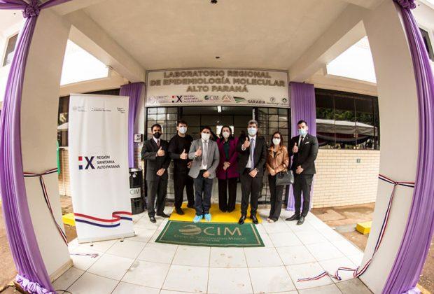 Grupo Sarabia hace posible la inauguración del Laboratorio Epidemiológico Biomolecular de Alto Paraná