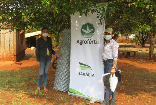 Agrofértil apoya a huertas familiares en San Pedro y Alto Paraná