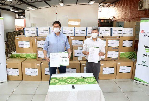 Grupo Sarabia contribuye con insumos hospitalarios para UTI