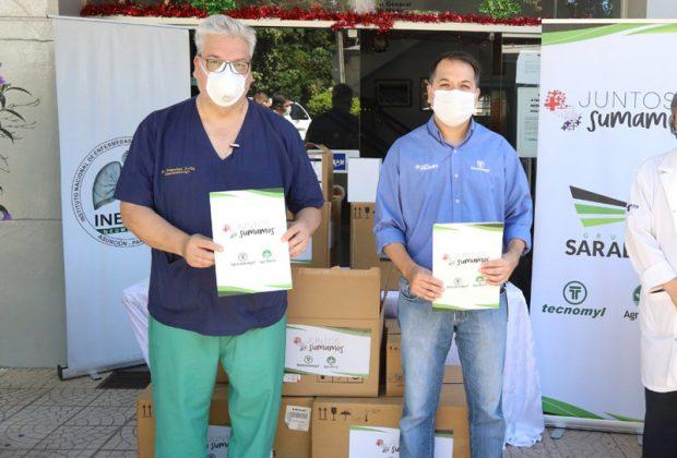 Grupo Sarabia donó insumos al INERAM